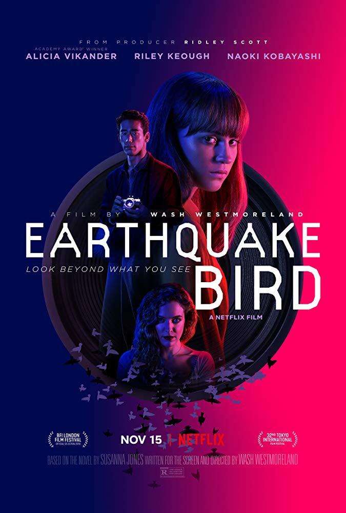 ดูหนัง Earthquake Bird (2019) รอยปริศนาในลางร้าย ดูหนังออนไลน์ฟรี ดูหนังฟรี ดูหนังใหม่ชนโรง หนังใหม่ล่าสุด หนังแอคชั่น หนังผจญภัย หนังแอนนิเมชั่น หนัง HD ได้ที่ movie24x.com