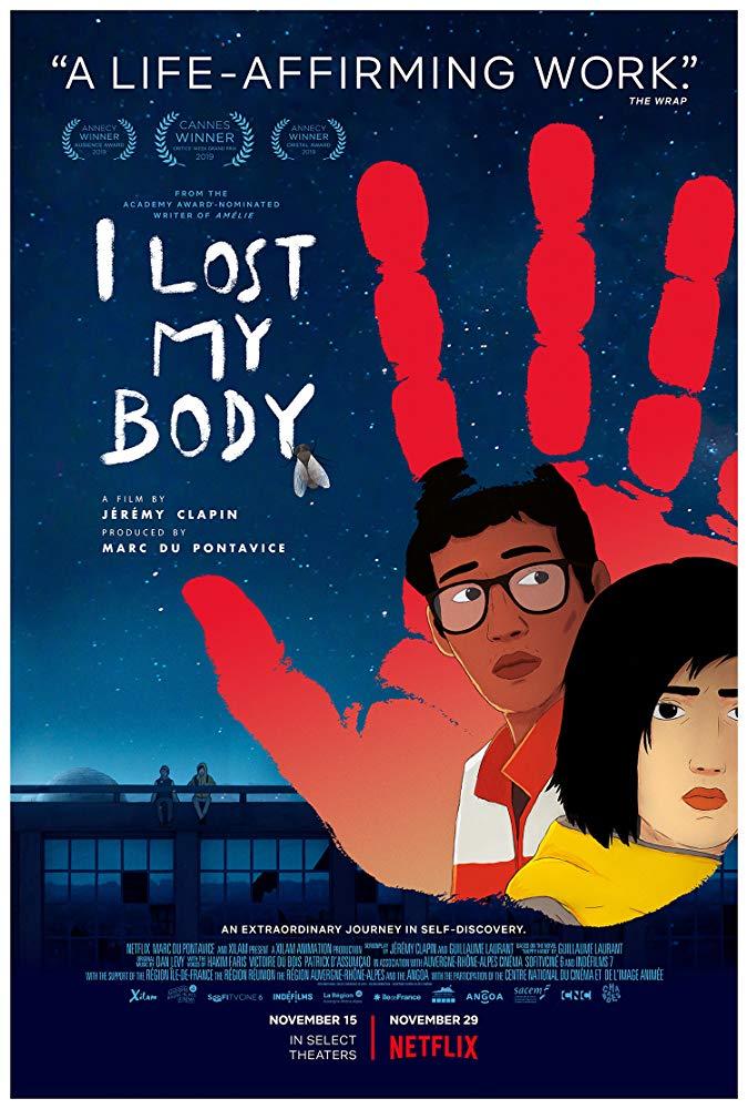 ดูหนัง I Lost My Body (2019) ร่างกายที่หายไป ดูหนังออนไลน์ฟรี ดูหนังฟรี ดูหนังใหม่ชนโรง หนังใหม่ล่าสุด หนังแอคชั่น หนังผจญภัย หนังแอนนิเมชั่น หนัง HD ได้ที่ movie24x.com