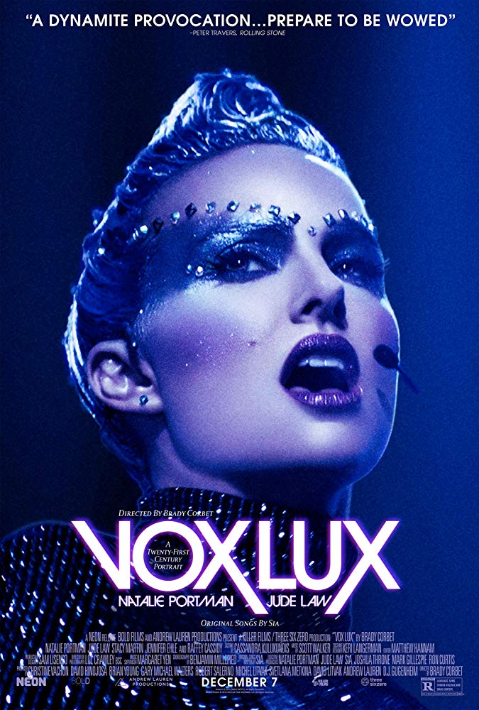 ดูหนัง Vox Lux (2018) ว็อกซ์ ลักซ์ เกิดมาเพื่อร้องเพลง ดูหนังออนไลน์ฟรี ดูหนังฟรี ดูหนังใหม่ชนโรง หนังใหม่ล่าสุด หนังแอคชั่น หนังผจญภัย หนังแอนนิเมชั่น หนัง HD ได้ที่ movie24x.com