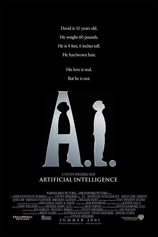 ดูหนัง A I Artificial Intelligence (2001) จักรกลอัจฉริยะ ดูหนังออนไลน์ฟรี ดูหนังฟรี ดูหนังใหม่ชนโรง หนังใหม่ล่าสุด หนังแอคชั่น หนังผจญภัย หนังแอนนิเมชั่น หนัง HD ได้ที่ movie24x.com