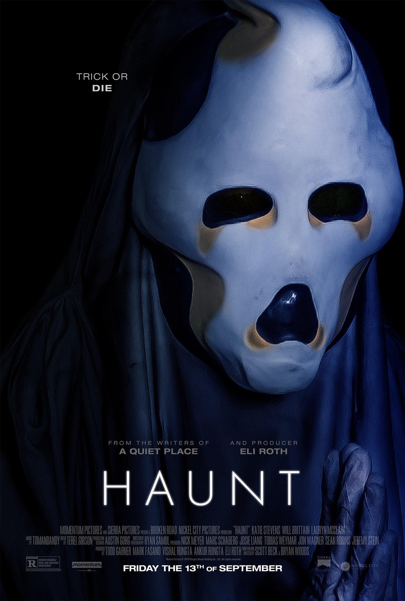 ดูหนัง Haunt (2019) บ้านผีสิงอำมหิต ดูหนังออนไลน์ฟรี ดูหนังฟรี ดูหนังใหม่ชนโรง หนังใหม่ล่าสุด หนังแอคชั่น หนังผจญภัย หนังแอนนิเมชั่น หนัง HD ได้ที่ movie24x.com